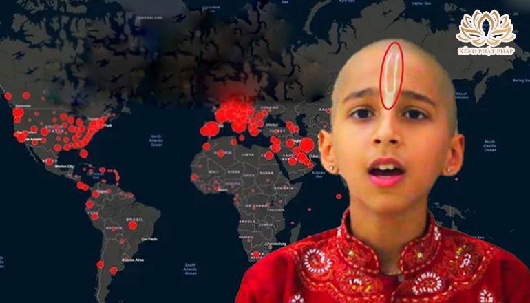 Cả thế giới lạnh sống lưng trước tiên tri 14 tuổi về thảm họa mới sắp xảy ra