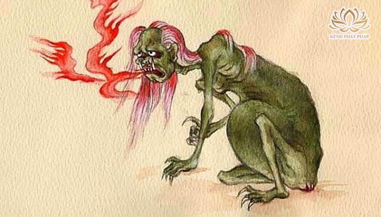 Lời tâm sự của quỷ đói làm thức tỉnh chúng sinh