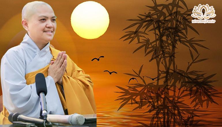 Làm sao để tâm được thanh tịnh khi niệm Phật - Sư cô Thích Nữ Hương Nhũ