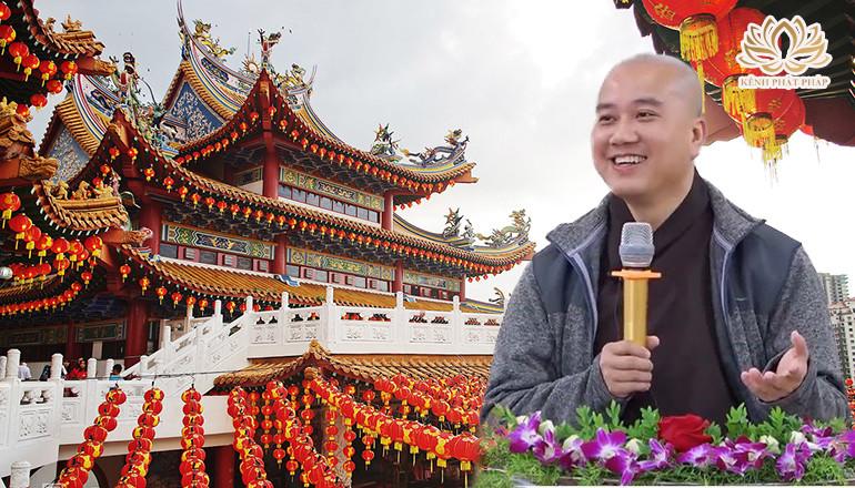 Thầy Pháp Hòa kể chuyện vui trong chùa sống đời vui đạo ai cũng cười