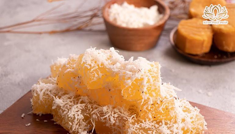 Cách làm bánh thốt nốt phủ dừa dẻo mềm, thơm ngon hấp dẫn