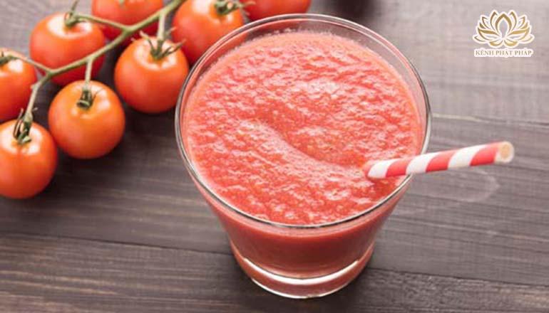 Cách làm sinh tố cà chua thơm ngon và vô cùng bổ dưỡng
