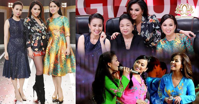 Ngưỡng mộ ba chị em gái thành công nhất của showbiz Việt: cuộc sống giàu có, hôn nhân viên mãn