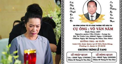 Bố chồng NSƯT Trịnh Kim Chi ǫᴜᴀ đờɪ, dàn sao Việt đồng loạt gửi lời chia buồn