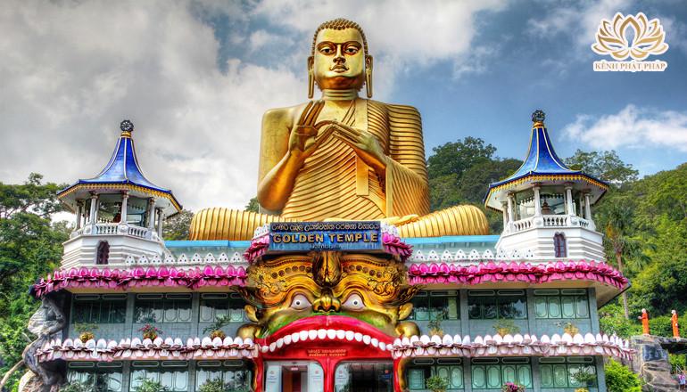 Đền thờ Dambulla hang động khổng lồ chứa chục bức tượng Phật