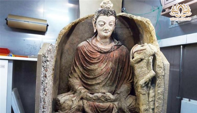 Những pho tượng Phật cổ được tìm thấy sau hàng ngàn năm
