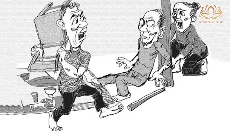 Hai trọng tội nhận quả báo nặng: Bất hiếu và ăn cháo đá bát