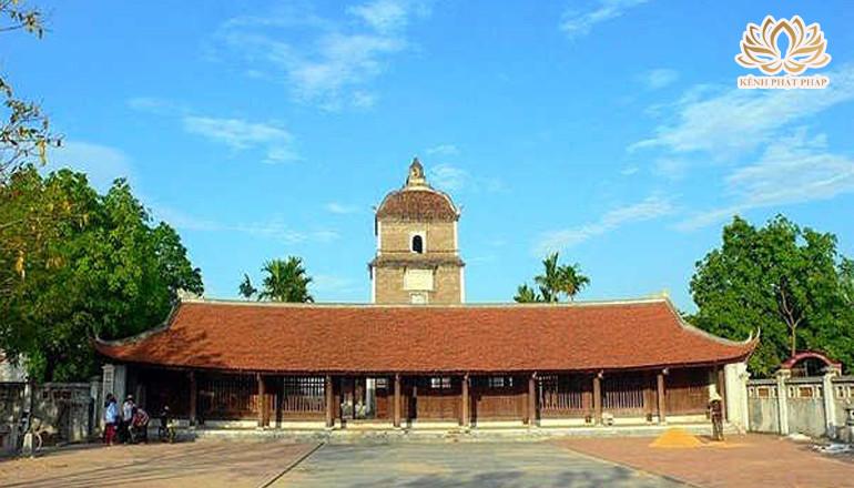Chùa Dâu Bắc Ninh có lịch sử văn hóa Phật giáo Việt Nam