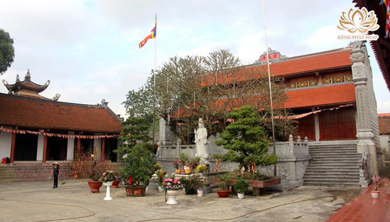 Chùa Cương Xá có kiến trúc tường khắc nhiều chữ Vạn nhất Việt Nam