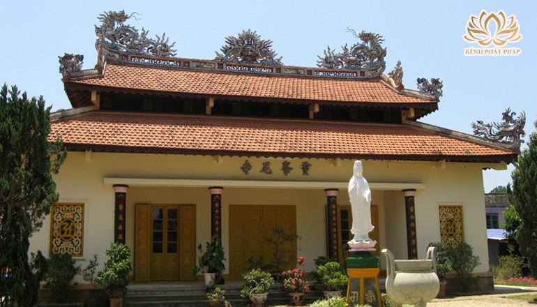 Chùa Linh Phong có kiến trúc đầy nghệ thuật ở Đà Lạt