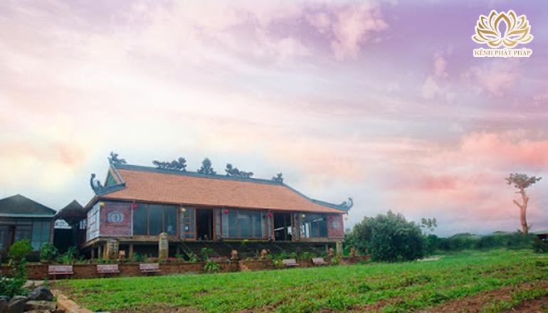 Chùa Trà địa điểm du lịch linh thiêng ở Lâm Đồng