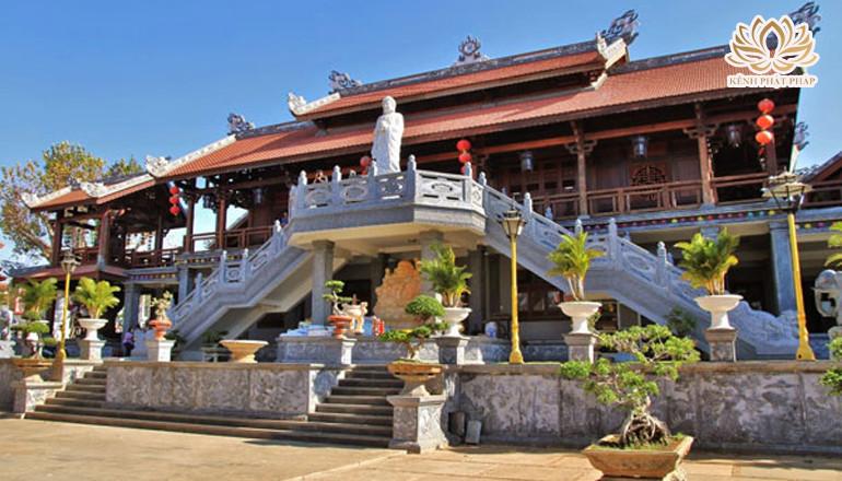 Chùa Khải Đoan - Ngôi chùa cổ được mang tên từ vợ chồng vua Khải Định