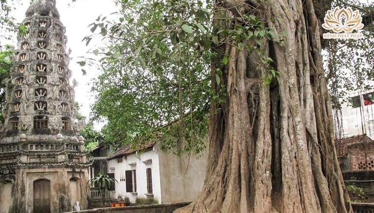 Chùa Mía có vẻ đẹp vùng đất cổ Đường Lâm