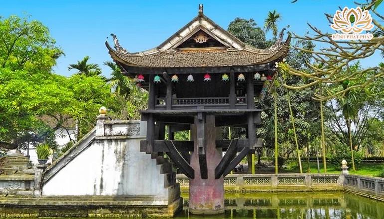 Chùa Một Cột biểu tượng văn hóa của Việt Nam