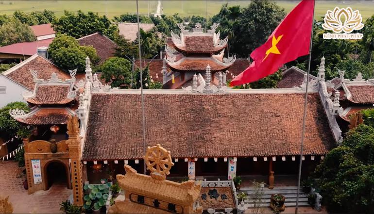 Chùa Phúc Nghiêm có kiến trúc độc đáo làm bằng đá ong ở Hà Nội