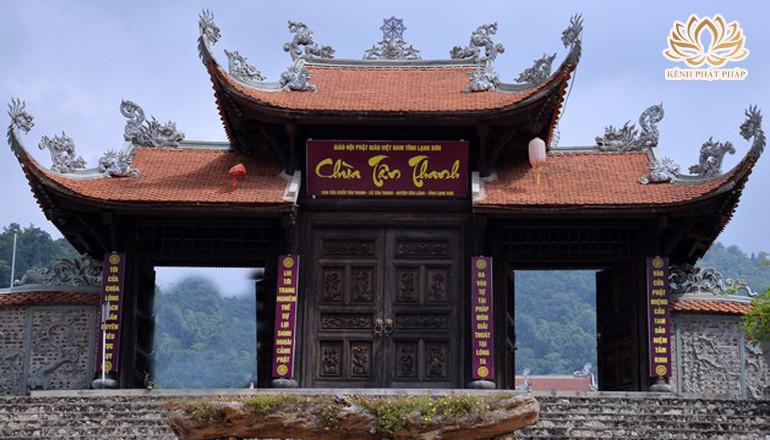 Chùa Tân Thanh có một vẻ đẹp linh thiêng ở nơi biên cương Tổ Quốc