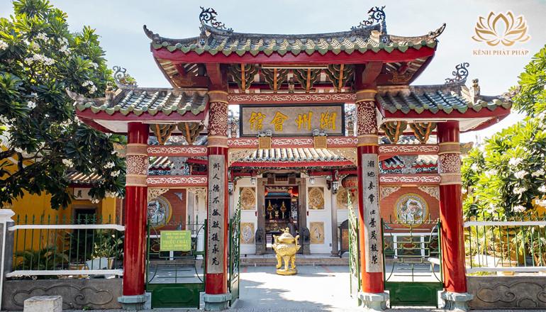 Hội quán Triều Châu một vẻ đẹp lộng lẫy choáng ngợp ở Hội An