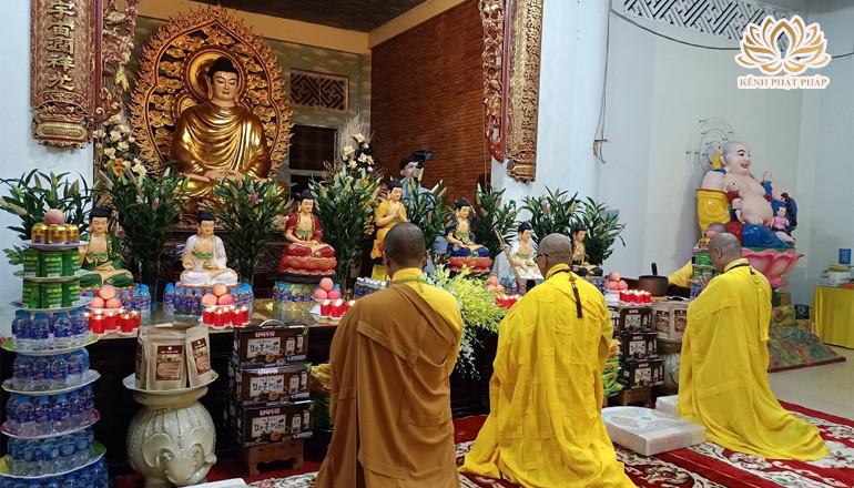 Đồng Tháp: Chùa Quê Hương tổ chức lễ khai Kinh Dược Sư cầu nguyện Quốc thái Dân an