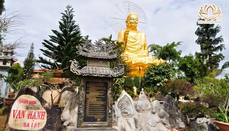 Thiền viện Vạn Hạnh nơi lưu giữ những tác phẩm tranh đá