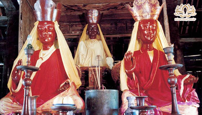"""Ý nghĩa Phật giáo qua sự tích """"Tứ Pháp"""" ở chùa Dâu - Phần 1"""