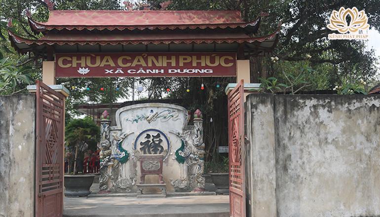 Chùa Cảnh Phúc một di tích lịch sử ở Quảng Bình