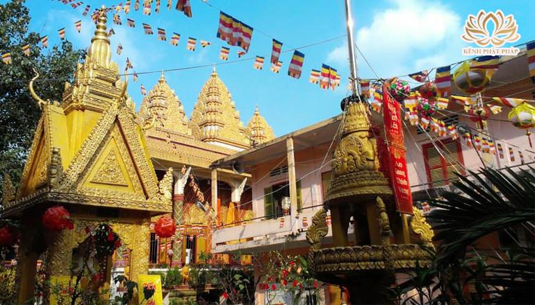 Chùa Chantarangsay - Ngôi chùa có kiến trúc văn hóa Khmer đầu tiên ở Sài Gòn