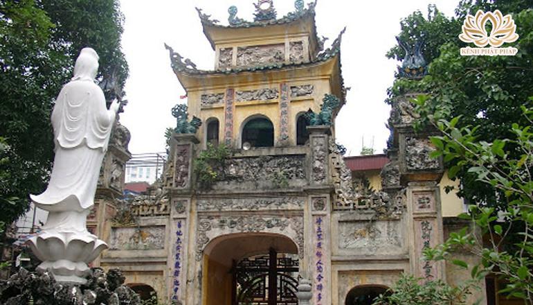 Chùa Hưng Ký - Ngôi chùa gốm sứ duy nhất ở Hà Nội