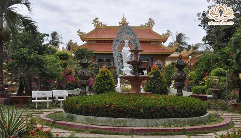Chùa Kim Thiền địa điểm tâm linh nổi tiếng ở Tiền Giang