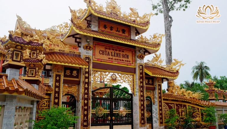 Chùa Linh Sơn có một vẻ đẹp thanh tịnh ở Tiền Giang