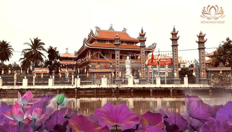 Chùa Nam An một di tích kiến trúc và nghệ thuật ở Tiền Giang