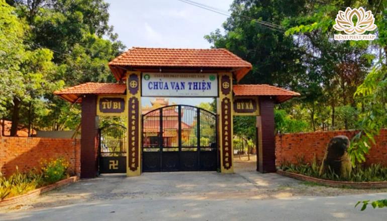 Chùa Vạn Thiện địa điểm du lịch tâm linh ở thành phố biển Vũng Tàu