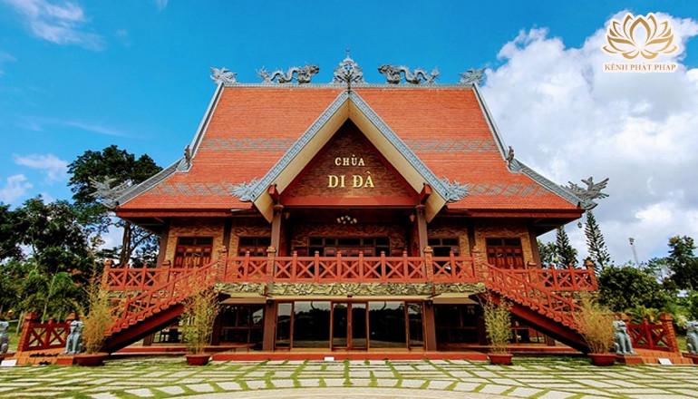 Chùa Di Đà - Ngôi chùa với lối kiến trúc độc đáo bậc nhất xứ sở sương mù