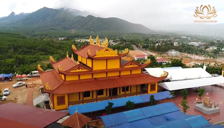 Chùa Khánh Sơn - Ngôi chùa có vị trí độc đáo giữa đài ngàn Tây Nguyên