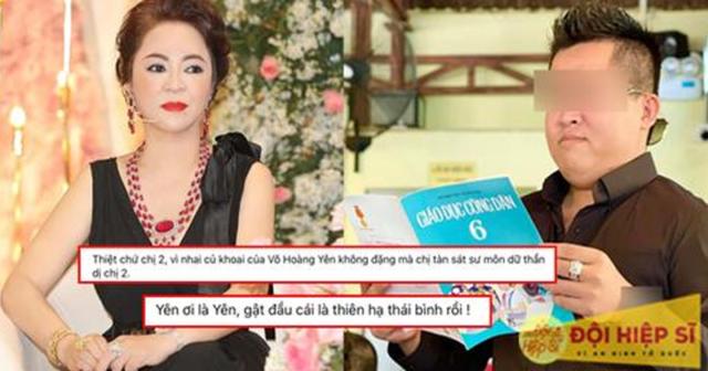 """Nguyễn Sin yêu cầu bà Hằng livestream nói rõ về chuyện """"tư tình"""" với Võ Hoàng Yên: """"Chị có tính chuyển tiền cho ổng rồi túp lều tranh 2 quả tim vàng không?"""""""
