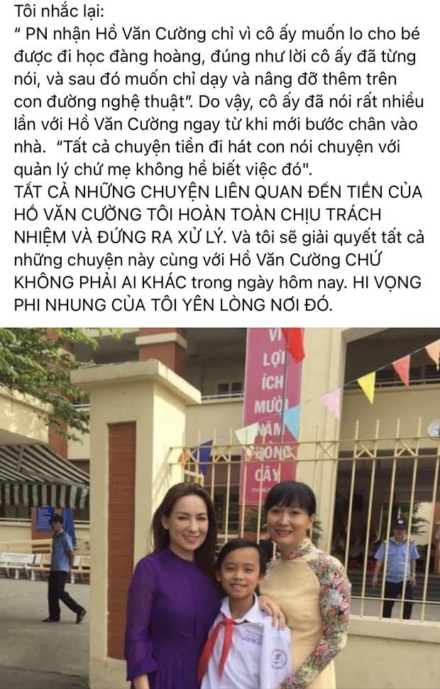 """Quản lý Phi Nhung """"đáp trả"""" bà trùm Đại Nam và dân мα̣пg xung quanh ồn ào """"ăn chặn"""" ɫιềп của Hồ Văn Cường"""