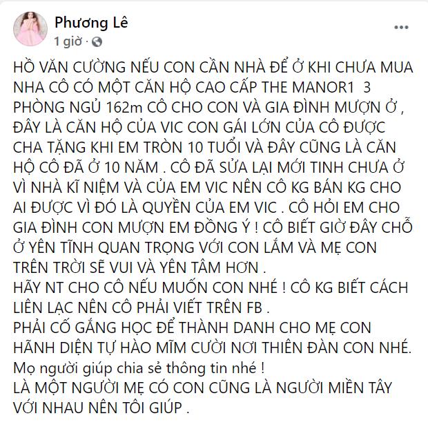 Hồ Văn Cường mặc 1 chiếc áo từ lúc tang lễ đến khi nhận tiền, Nathan Lê, Phương Lê ra tay giúp đỡ - Hình 4