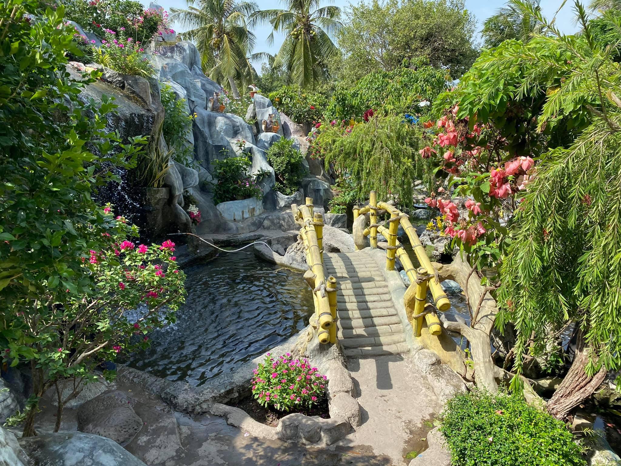 Chùa Giác Hoa có vẻ đẹp như tiên cảnh ở Bạc Liêu